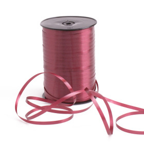 Curling ribbon 5mm x 500m burgundy