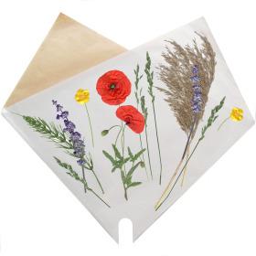 Sleeve Doublé Flower Field 37x37cm