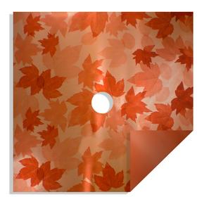 Fall Leaves 24x24in orange H3