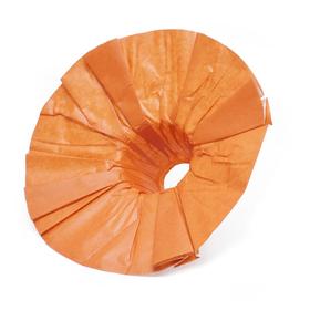 Bouquet holder Kraft 25cm orange