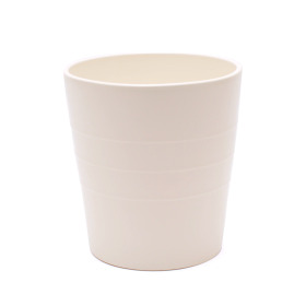 Ceramic Pot Linn 5 in matte Cream