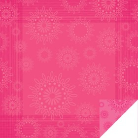 Kaleidoscope Sheet 24x24 in pink