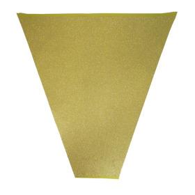 GLITTER & GLAMOUR 20X18X5 IN GOLD