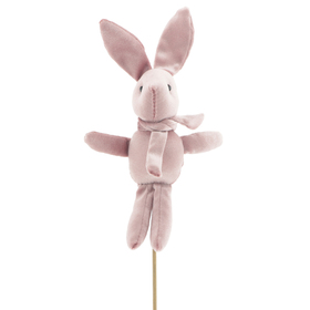 Haas Balou 19cm op 50cm stok roze