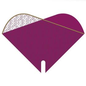 Sleeve Doublé Cotton Fields 40x40xcm lilac