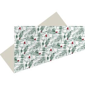 Voorgevouwen vel Pine Sketch 75x75cm FSC Mix