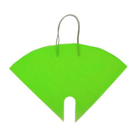 Flowerbag Nonwoven lime green 16x16 in
