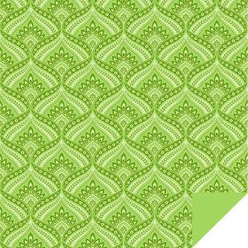Jasmin 24x24in green H3