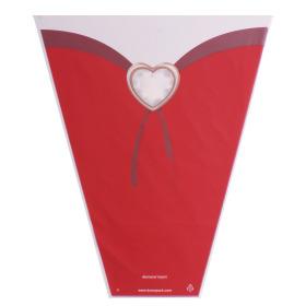 Sleeve Diamond Heart 40x30x12cm red