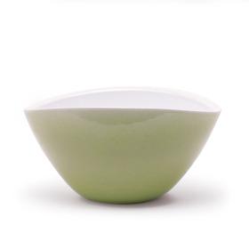 Pot Sofie Oval 27x15x13.5cm lime green