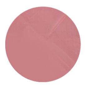 Sheet Organza Round Ø 49cm red