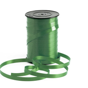 Curling ribbon 10mm x 250m moss green