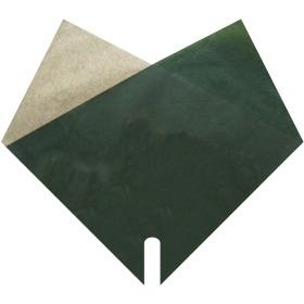 Sleeve Doublé Kraft 35x35cm dark green