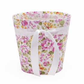 Potcover Flowers ES12 pink