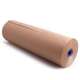 Roll Brown Kraftpaper 60cm/50g. FSC Mix 70% natural