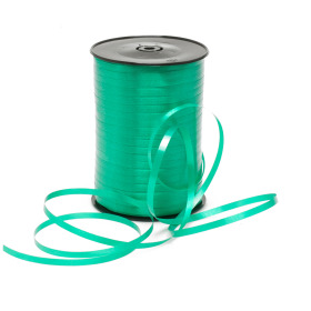 Curling ribbon 10mm x 250m emerald green