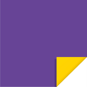Bi-Color Sheet 24x24in purple / yellow