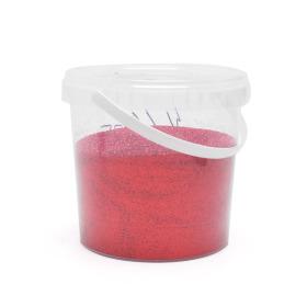 Glitter 1kg rood