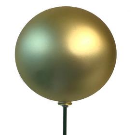 Christmas Ball Matte 15cm on 50cm pick Gold