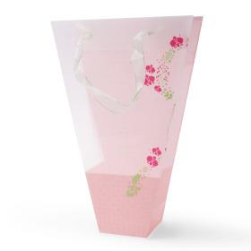 Carrybag Flower Garden 17/7x6/6x25cm pink