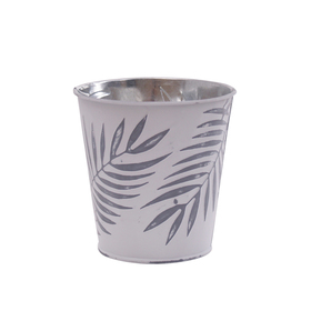Pot Zinc Urban Jungle 4 in gray
