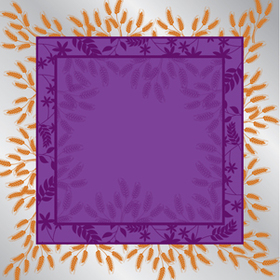 Prairie 24x24in purple