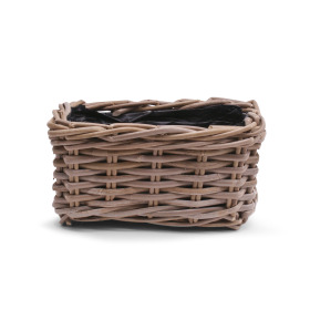 Basket rattan Cottage 25x15 H13cm