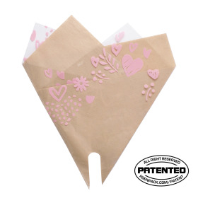 Smartsleeve Love Boutique (lxw) 35x35cm pink