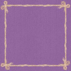 Raff 24x24in lilac