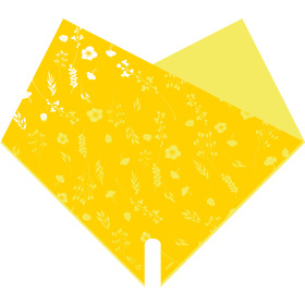 Sleeve Doublé Atelier 40x40cm yellow