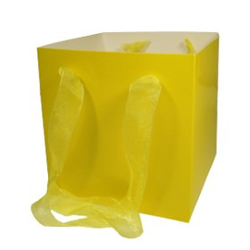 European Cube 6.25x6.25 in +Handle yellow
