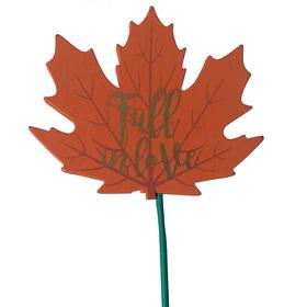 Fall in Love 8cm on 50cm stick orange
