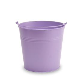 Zinc bucket Breeze ES19 purple matt