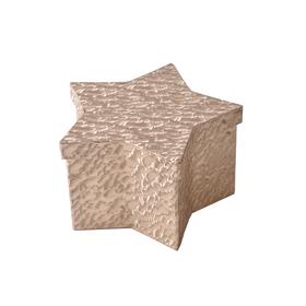Hat box Evelyn 20,5x13x12cm goud