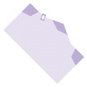 Sheet Doublé Nonwoven Dots 50x85cm lilac