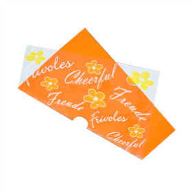 Sheet Frivoles Pre-folded 75x75cm orange