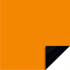 Bi-Color Sheet 24x24in orange / black