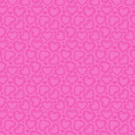 Watersafe Tissue Sweet Romance 24x24 in pink with hole
