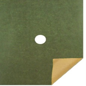 KRAFT 20X24 IN 50GRS GREEN WITH HOLE