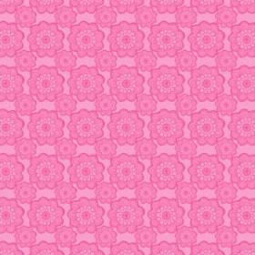 Watersafe Tissue Lady 24x24 in pink with hole