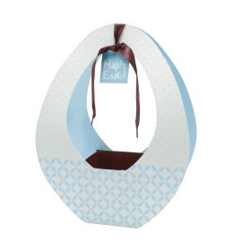 Easter gift bag Festival 26x12x35cm blue