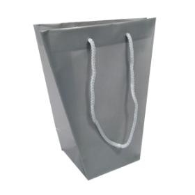 Vase bag silver