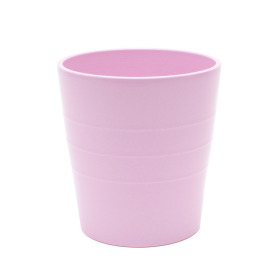 Ceramic Pot Linn 5 in matte soft pink