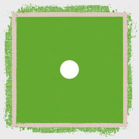 Vintage Rag 24x24in green H3