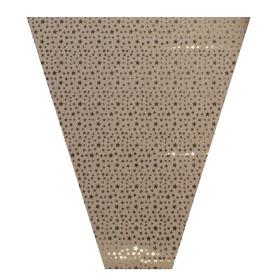 Sleeve Glitter&Stars 50x40x12cm gold