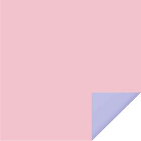 Bi-Color Sheet 24x24 in light pink /Baby blue