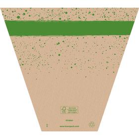 Plantenhoes Kirsten 37x36x14,5cm FSC Mix groen