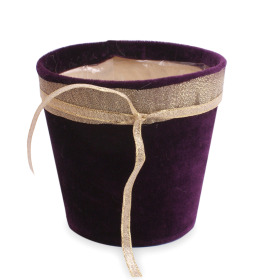 Pot Fine Velvet 5 in purple