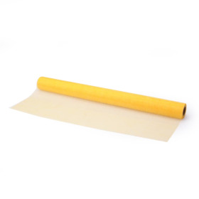 Organza on roll 50cm x 10m yellow