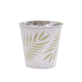 Pot Zinc Urban Jungle 4 in green